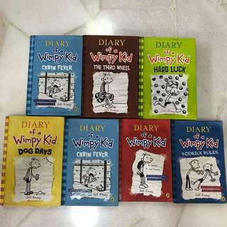 Diary Of A Wimpy Kid - $10 for a set
