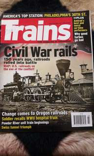 Trains in history