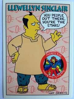 1994 Skybox Simpsons Series 2 - Base Card #S37 - Llewellyn Sinclair