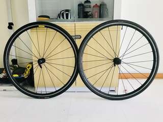 Specialized Axis Sport wheelset with Specialized espoir tyres