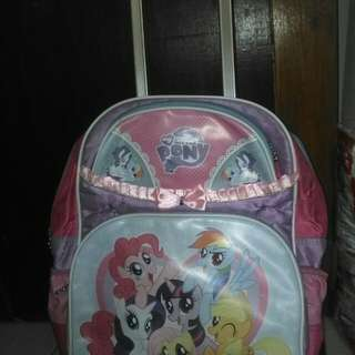 Tas trolley little pony