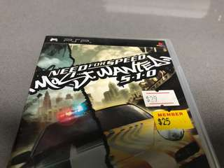 PSP Need for Speed Most Wanted UMD