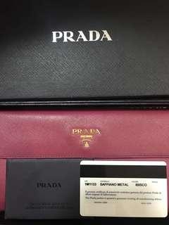 Prada (reposting with box and authenticity)