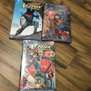 Superman Action Comics HC 1-3