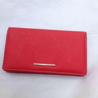Preloved Vincci Red Wallet (Ori)