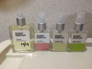 PRICED PER BOTTLE Scent Swatch jo Malone chanel dkny inspired fragrance spray