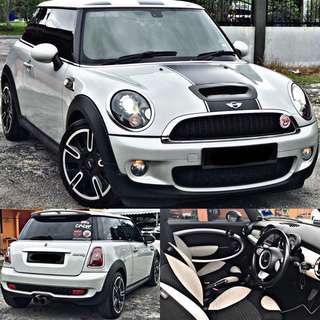 SAMBUNG BAYAR / CONTINUE LOAN  MINI COOPER S TURBO 1.6 AUTO UNITED KINGDOM