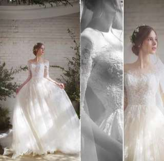 Wedding Gown bridal dress embroidery