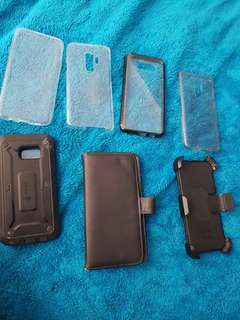 Covers and cases for samsung galaxy s7, s8, s9 plus