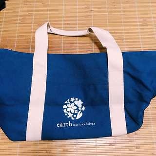 🚚 全新earth music 帆布旅行袋