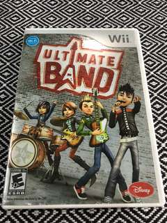 Wii Ultimate Band CD