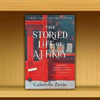 BN - The Storied Life of A. J. Fikry By Gabrielle Zevin