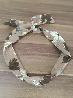 Flower bandana