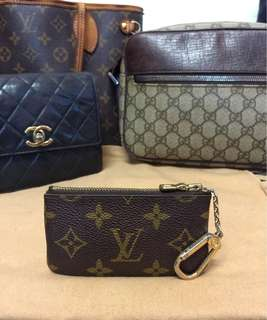 Louis vuitton vintage Key pouch