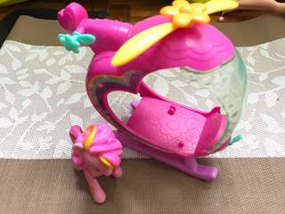 My Little Pony Pinkie Pie and Helicopter