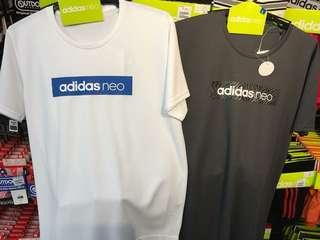 🚚 Adidas 白色速乾T恤LL