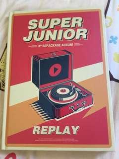 Super Junior Replay普通版 神童碟