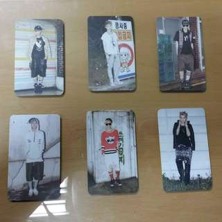 [EXO-M 엑소엠] Growl Unofficial Photocards
