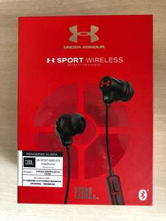 Jbl sport wireless headphone - under armour