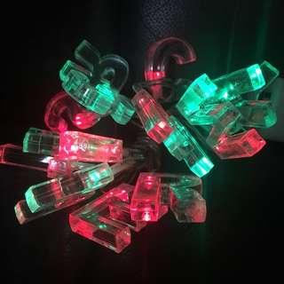 聖誕LED燈飾(2A電池/1.3米長)全新