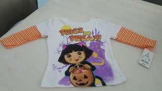 Clearance $2 Dora Baby Girl Long Sleeve Tshirt