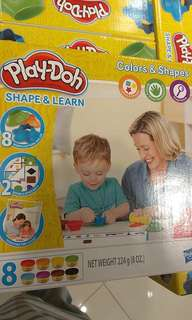 PO PlayDoh Shape and Learn • Colors and shapes