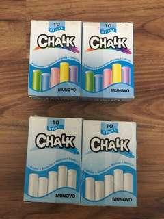 Brand new in box chalk