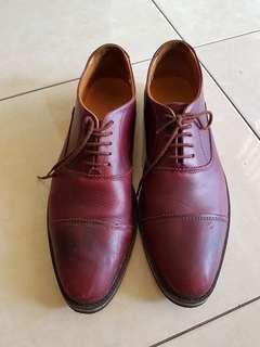 Sepatu kulit asli homemade