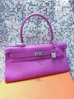 Hermes Kelly shoulder  薰衣草紫色🌾EPSOM皮 99新完美狀態🌸超美麗的顏色🌹