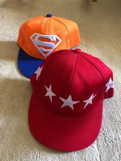 Boy kid cap superman