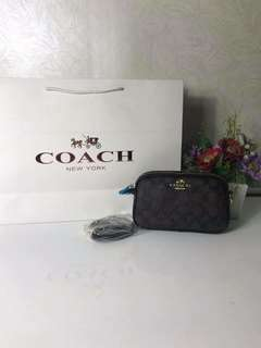Coach double zip sling
