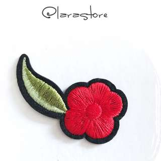 Bn flower Iron On Patch