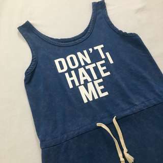 I don't hate me Dress