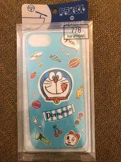 Doraemon 叮噹 多拉A夢 iPhone7 iPhone8 case 手機套 電話套 軟殼