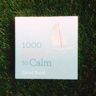 PRELOVED BOOK: 1000 Paths to Calm by David Baird