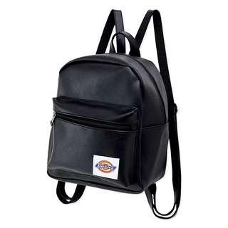 日本mini雜誌附贈附錄美國品牌 Dickies 黑色皮革風 迷你 肩背包 後背包 書包 運動袋 背囊