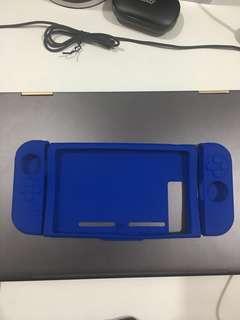 Blue silicon joycon cases