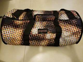 雙面Jansport旅行袋 (圓筒形)