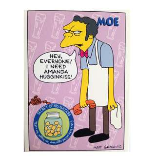 1994 Skybox Simpsons Series 2 - Base Card #S24 - Moe