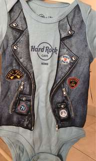 New and Original Hard Rock Cafe Rome romper