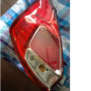 Rear Facelift Ford Fiesta 1.5 liter lamp