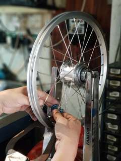 BROMPTON upgrade and servicing