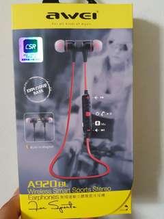 Awei Wireless Bluetooth Sports Earphone