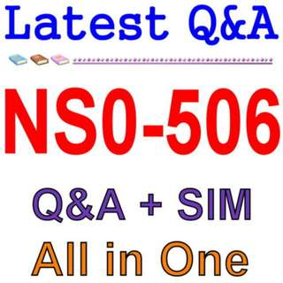 NetApp Certified Implementation Engineer - SAN, Cluster NS0-506 Exam Q&A PDF+SIM