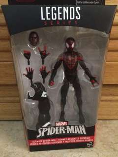 Marvel Legends Space Knight Venom BAF Miles Morales Spider Man