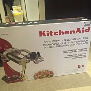 Kitchen Aid Spiralizer With Peel, Core And Slice