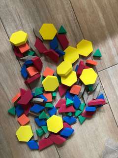 Learning Resources Foam Pieces for patterns and shapes