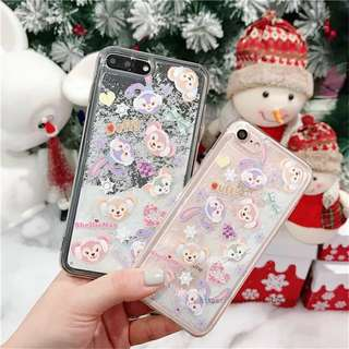 冰雪Duffy熊流沙iPhone Case
