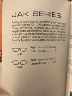 特價清貨全新意大利Rudyproject 平光近視眼鏡架