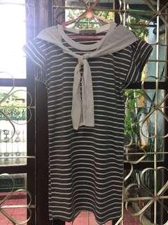 Stripes sailor dress